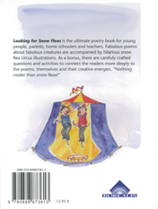 back cover of Looking for Snow Fleas and Other Mysteries