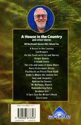back cover of House in the Country, a