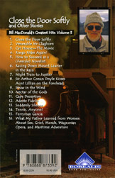 back cover of Close the Door Softly