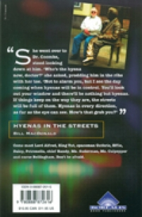 back cover of Hyenas in the Streets