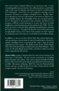 back cover of Over Prairie Trails