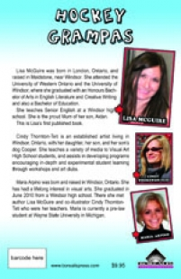 back cover of Hockey Grampas