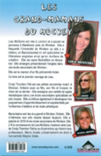 back cover of Les Grand-Mamans Du Hockey